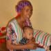 Éthiopienne avec son bébé